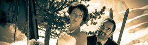 Mariage à La Mongie par Duo Coiffure